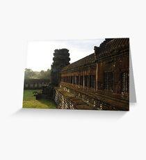 Sunrise on Angkor Wat III - Angkor, Cambodia. Greeting Card