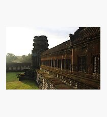 Sunrise on Angkor Wat III - Angkor, Cambodia. Photographic Print
