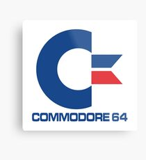 Commodore 64 Logo Metal Print