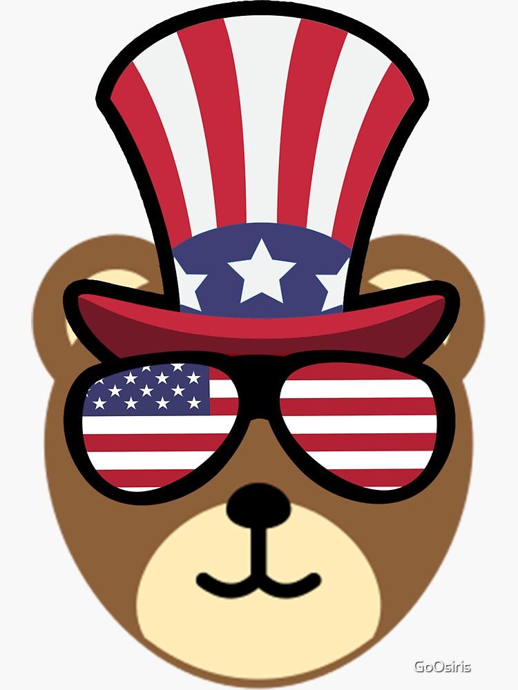 Bear Happy 4th Of July de GoOsiris
