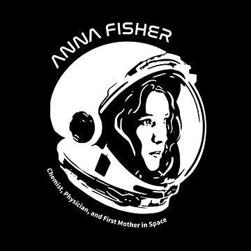Women in Space: Anna Fisher by photonart