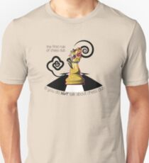 The first rule of chess club is you do NOT talk about chess club. T-Shirt