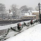 Christmas in Kennebunkport, ME by Monica M. Scanlan