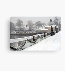 Christmas in Kennebunkport, ME Canvas Print