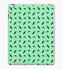 Chameleon and Parrot Pattern  iPad Case/Skin