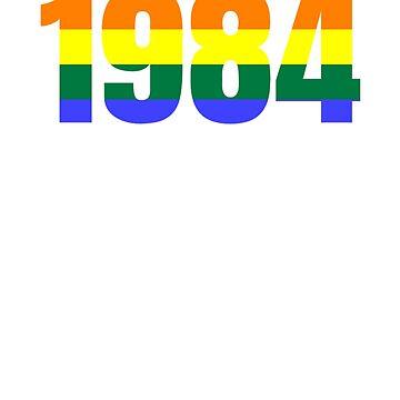 1984 lgbtq by moutassie