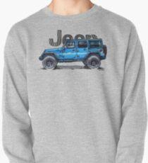 4dr Jk Unlimited - Blue  Pullover