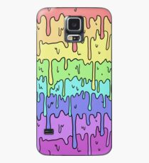 Pastel Kawaii Melting Rainbow Design  Case/Skin for Samsung Galaxy