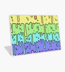 Pastell Kawaii schmelzender Regenbogen-Entwurf Laptop Folie