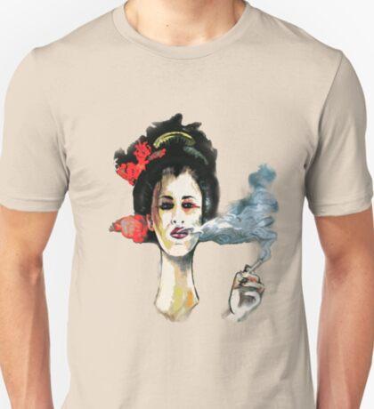 Smoking Geisha T-Shirt