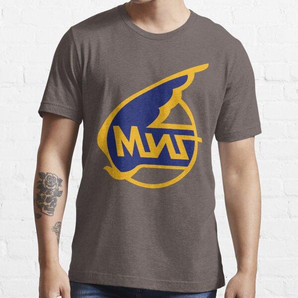 Mikoyan-Gurevich (Russian Aircraft Corporation MiG) Logo Essential T-Shirt