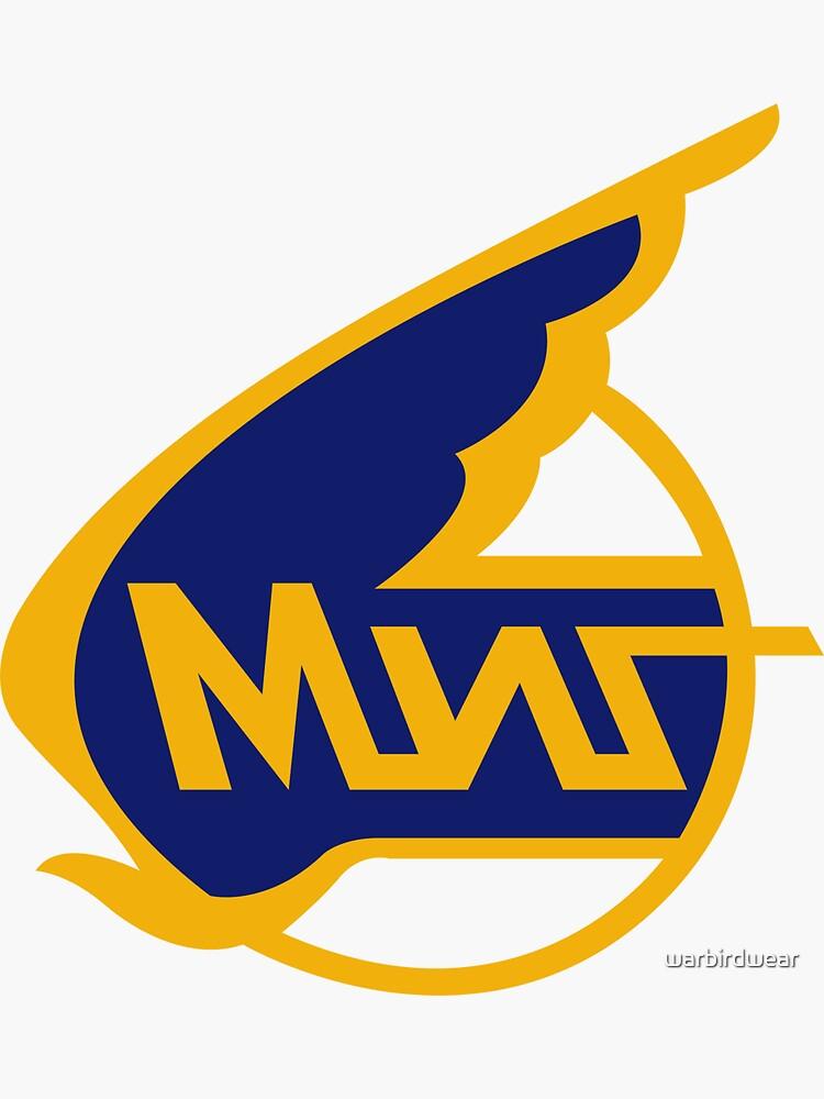 Mikoyan-Gurevich (Russian Aircraft Corporation MiG) Logo by warbirdwear