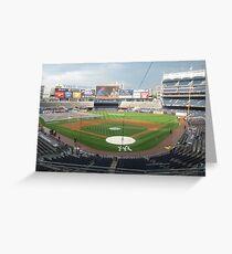Yankee Balling Greeting Card