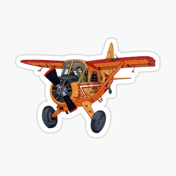 De Havilland Canada Beaver Sticker