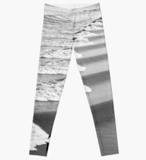 Grey Wave Surf Leggings