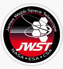 James Webb Space Telescope Program Logo Sticker