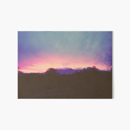 Killarney Sunset Art Board Print