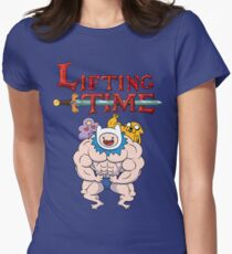 Lifting Time Women's Fitted T-Shirt