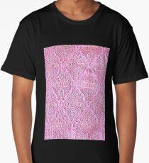 Alhambra palace prints, Andalucia, Granada, Spain pink Long T-Shirt