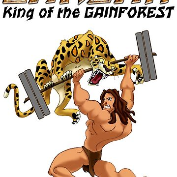 Barzan: King of the Gainforest by kaytee137