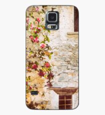 Camelia flowers and decayed house Case/Skin for Samsung Galaxy