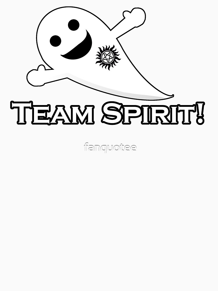The Team Spirit! Tee by fanquotee