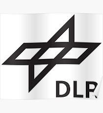 Deutsches Zentrum für Luft und Raumfahrt - DLR Logo Poster