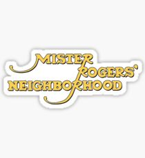 Mr Rogers Neighborhood Sticker