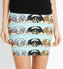 Australian Shepherd Puppies all 4 colors Mini Skirt