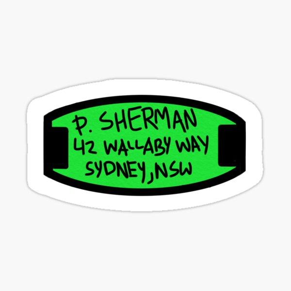 Wallaby Way Sticker