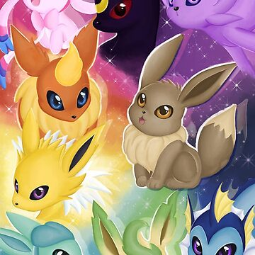 Eeveelutions by SamanthaSawyer