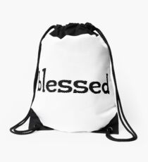 inviolable drawstring bags redbubble Millennial Generation Y blessed words gen z use generation z words millennials use drawstring bag