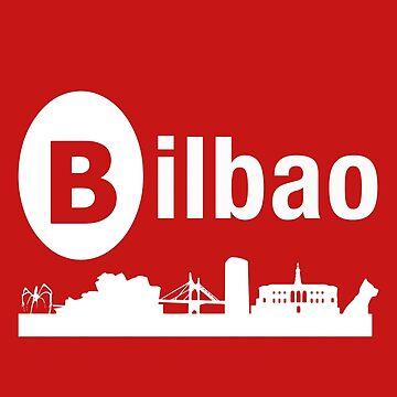 Bilbao Skyline by reydefine