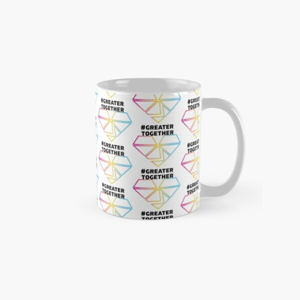 Pansexual Pride - #GreaterTogether PRIDE Classic Mug