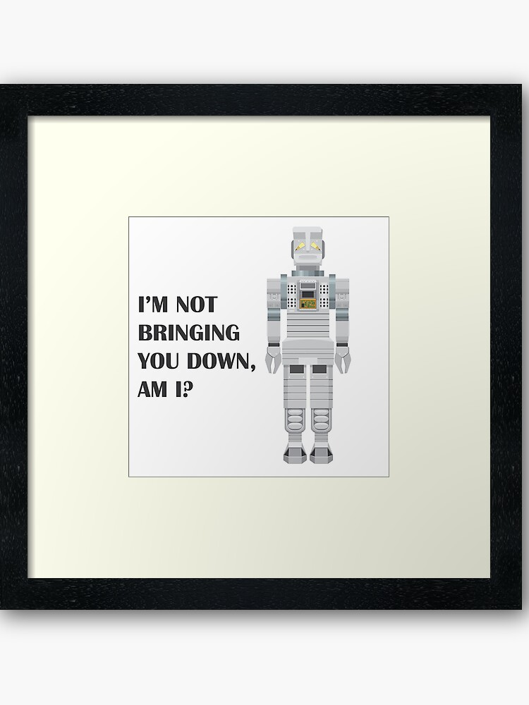 Marvin the Paranoid Android   Framed Art Print