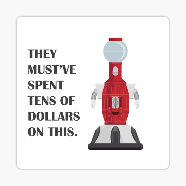 Tom Servo - Bot about Town Sticker