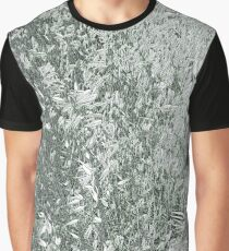 Camouflage fields black and white Graphic T-Shirt