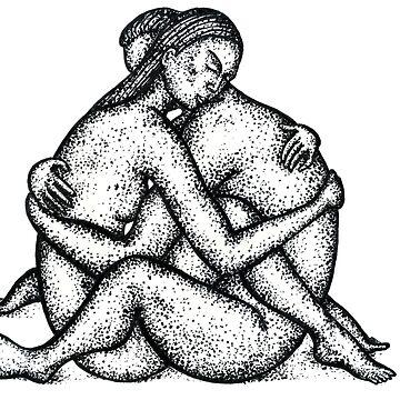Nude lovers by belka