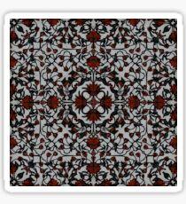 561. Taj Mahal Flowers (brush ornament) Mix 2 (P 52) Sticker