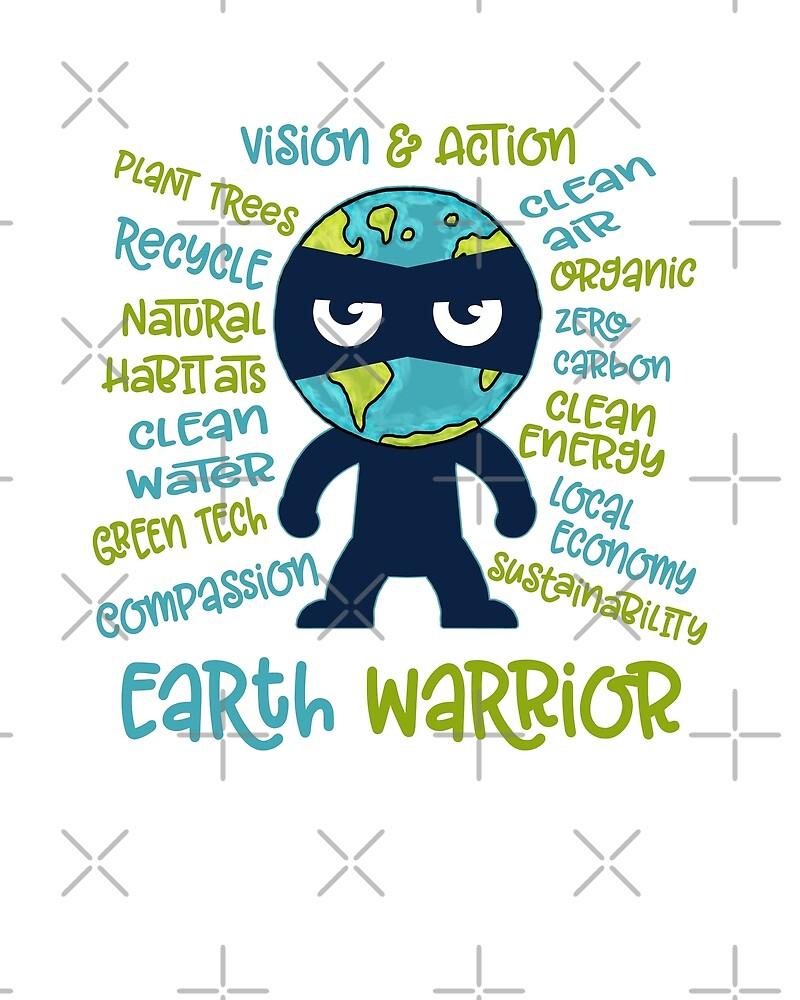 Earth Warrior by jitterfly