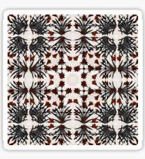 562. Taj Mahal Flowers (brush ornament) Mix 3 (P 53) Sticker