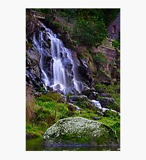 """""""Falling By The Mill"""" Photographic Print"""