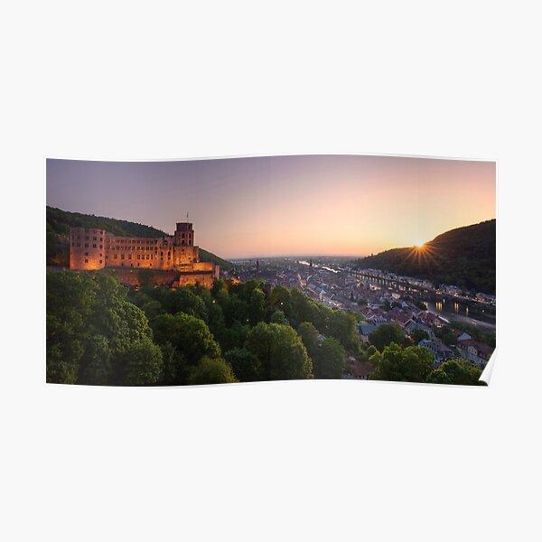 Heidelberg Evening Poster