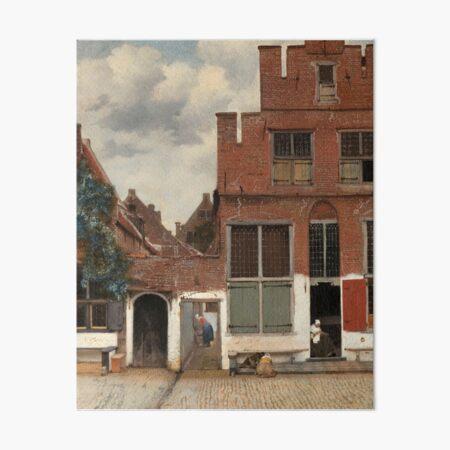 The Little Street - Johannes Vermeer Art Board Print