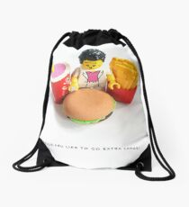 Would you like to go extra large? Drawstring Bag
