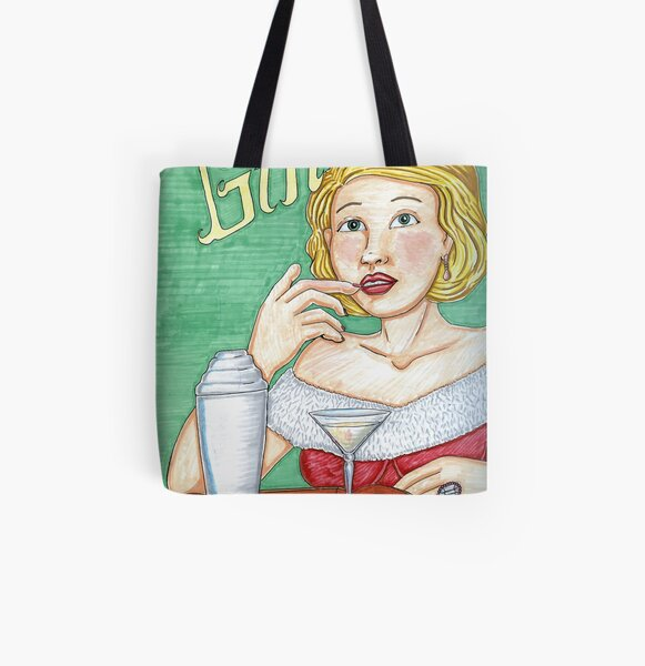 GIN All Over Print Tote Bag