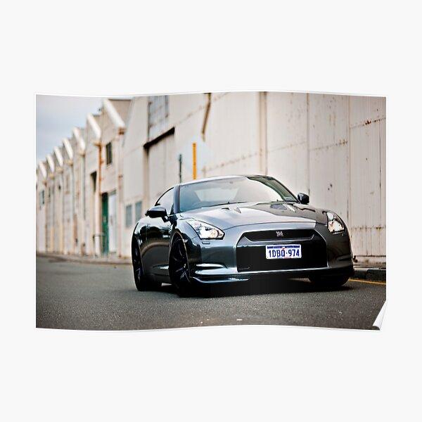 Nissan R35 GTR Poster