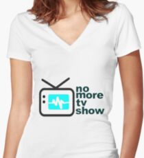 reality show Women's Fitted V-Neck T-Shirt