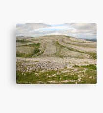 Burren view Canvas Print
