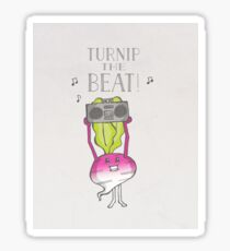 Turnip the Beat! Sticker